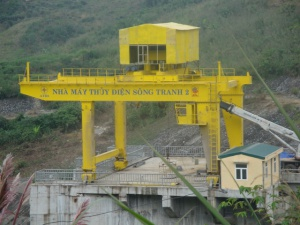 Gantry for Hydroelectric Project 70/10 x 2 tons