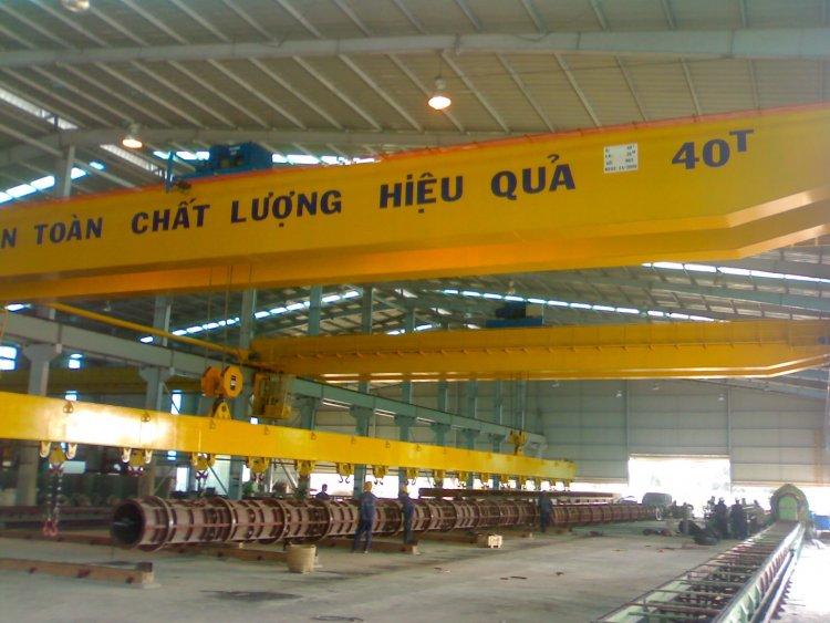 Double crane 40 tons