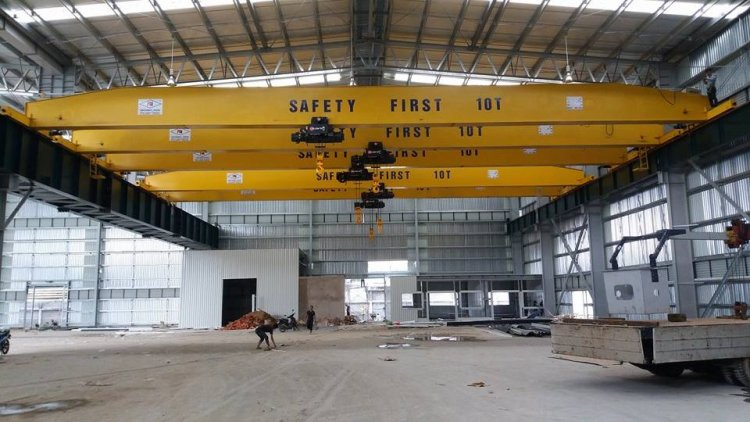 Single girder crane 10 tons